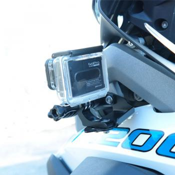 Action cam bracket on indicator BMW R1200GS LC & R1250 GS