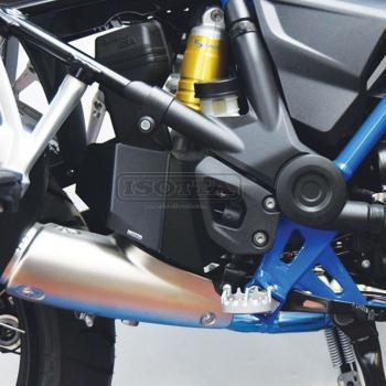 Heat protector BMW R1250GS, R1200GS - installed
