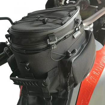 "Tankbag BMW F650 GS, F700 GS, F800 GS & F800GS Adventure ""15-25 Litres"" -mounted on bike"