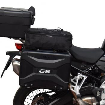 Additional bags on top of the BMW Vario side cases - F-models
