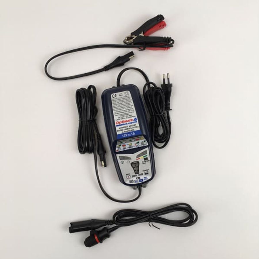 RS Motorcycle Solutions - Battery charger OPTIMATE 4