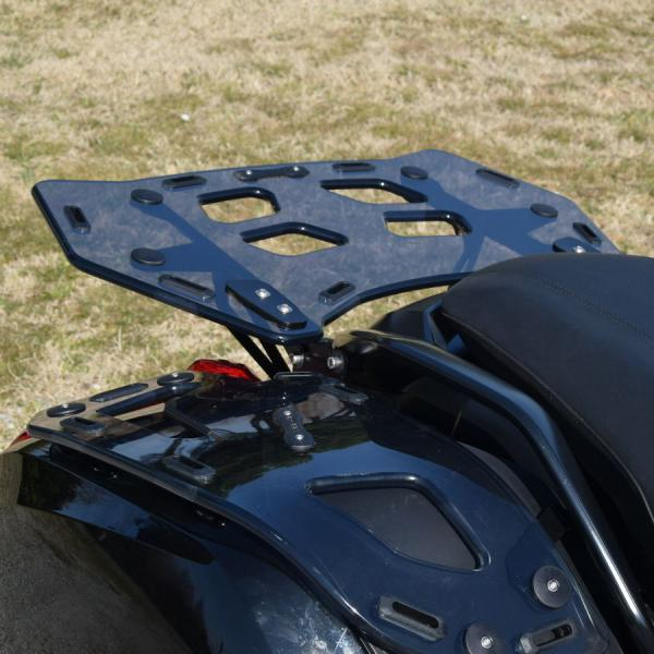 Luggage rack on BMW K1600 Bagger