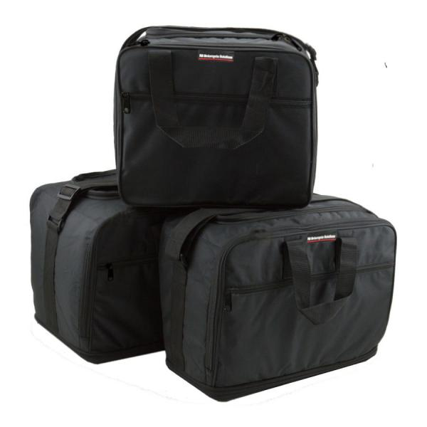 Complete set of inner bags for BMW aluminum side boxes + topcase
