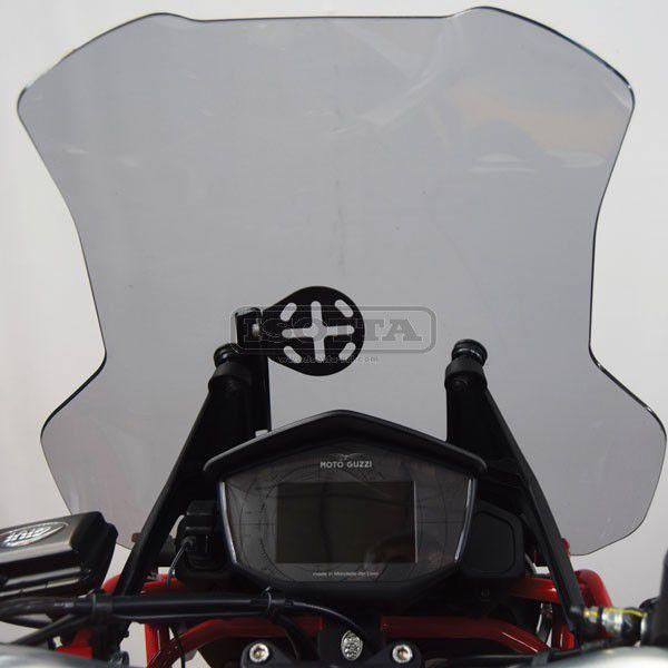 Support for navigation system device on Moto Guzzi V 85 TT - front